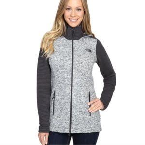 The North Face Inidi Full Zip Fleece Gray Jacket M